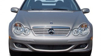 2005 Mercedes-Benz C Class 2-door Sport Coupe 1.8L Front Exterior View