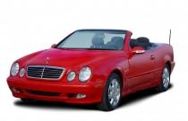 2003 Mercedes-Benz CLK Class 2-door Cabriolet 3.2L Angular Front Exterior View