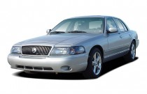 2004 Mercury Marauder 4-door Sedan Angular Front Exterior View