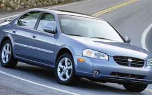 2000 Nissan Maxima Vs Honda Accord Sedan Toyota Camry