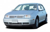 2006 Volkswagen Golf 4-door HB GLS TDI Manual Angular Front Exterior View