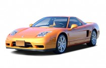 2003 Acura NSX 2-door NSX-T Open Top 3.0L Auto Angular Front Exterior View