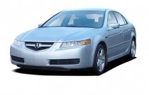 2005 Acura TL 4-door Sedan AT Navigation System Angular Front Exterior View