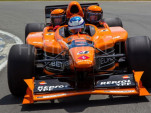 2001 Arrows AX3 3-seater F1 race car for sale