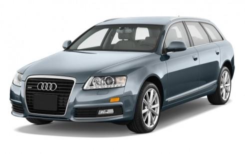 2010 Audi A6 4-door Avant Wagon 3.0L quattro Premium Angular Front Exterior View