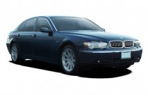 2003 BMW 7-Series 745Li 4-door Sedan Angular Front Exterior View