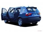 2006 BMW X3-Series X3 4-door AWD 3.0i Open Doors