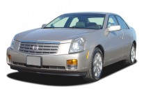 2003 Cadillac CTS 4-door Sedan Angular Front Exterior View