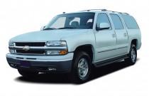 2004 Chevrolet Suburban 4-door 1500 4WD LS Angular Front Exterior View