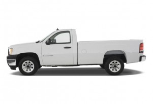 why is our 2009 GMC Sierra called a work truck?  It's causing financing problems.