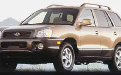 2001 hyundai santa fe vs toyota rav4 honda cr v subaru. Black Bedroom Furniture Sets. Home Design Ideas