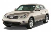 2009 Infiniti EX35 RWD 4-door Journey Angular Front Exterior View