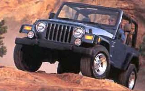 2001 jeep wrangler vs isuzu rodeo, chevrolet tracker, suzuki vitara