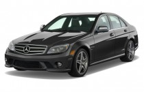 2009 Mercedes-Benz C Class 4-door Sedan 6.3L AMG RWD Angular Front Exterior View