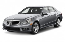 2010 Mercedes-Benz E Class 4-door Sedan Luxury 3.5L RWD Angular Front Exterior View
