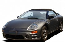 2005 Mitsubishi Eclipse 2-door Spyder GS 2.4L Sportronic Auto Angular Front Exterior View