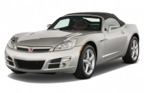 2009 Saturn Sky 2-door Convertible Angular Front Exterior View