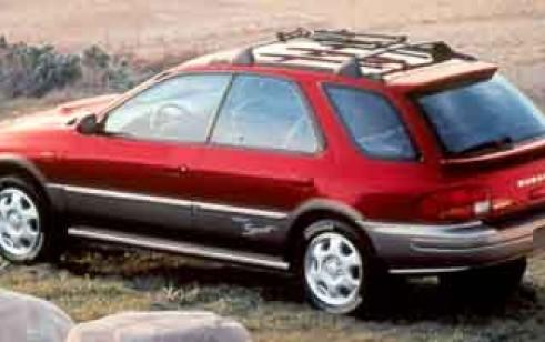 2001 Subaru Impreza Vs Toyota Highlander Toyota Rav4