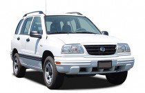 2003 Suzuki Vitara 4-door Manual 4WD Angular Front Exterior View