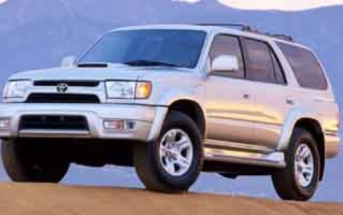 2001 toyota 4runner vs toyota highlander chevrolet blazer nissan pathfinder jeep grand. Black Bedroom Furniture Sets. Home Design Ideas