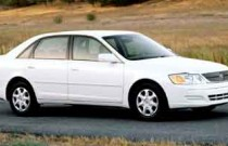 2001 Toyota Avalon XL w/Bucket Seats