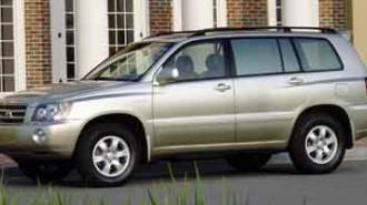 2001 Toyota Highlander
