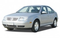 2003 Volkswagen Jetta Sedan 4-door Sedan GLS Turbo Manual Angular Front Exterior View