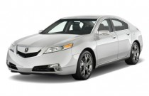 2009 Acura TL 4-door Sedan SH-AWD Tech HPT Angular Front Exterior View