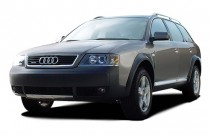 2003 Audi Allroad 5dr quattro AWD Auto Angular Front Exterior View