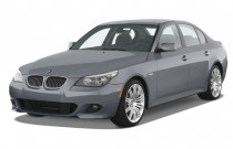 2008 BMW 5-Series 4-door Sedan 550i RWD Angular Front Exterior View