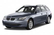 2010 BMW 5-Series 4-door Sports Wagon 535i xDrive AWD Angular Front Exterior View