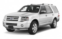 2010 Ford Expedition 2WD 4-door Limited Angular Front Exterior View