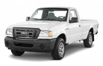 "2010 Ford Ranger 2WD Reg Cab 112"" XL Angular Front Exterior View"
