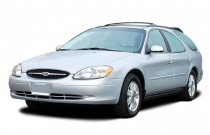 2003 Ford Taurus 4-door Wagon SEL Deluxe Angular Front Exterior View
