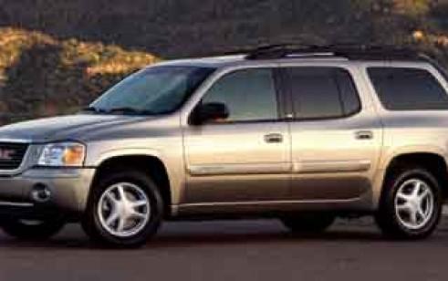 2002 gmc envoy xl vs jeep grand cherokee nissan pathfinder ford explorer acura mdx dodge. Black Bedroom Furniture Sets. Home Design Ideas