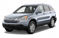 2009 Honda CR-V 2WD 5dr EX-L w/Navi Angular Front Exterior View
