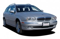 2006 Jaguar X-TYPE 4-door Wagon 3.0L Angular Front Exterior View