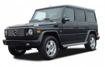 2003 Mercedes-Benz G Class 4-door 4WD 5.0L Angular Front Exterior View