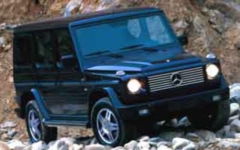 2002 Mercedes Benz G Class