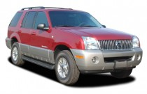 "2003 Mercury Mountaineer 4-door 114"" WB Convenience AWD Angular Front Exterior View"