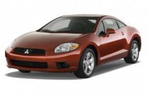 2009 Mitsubishi Eclipse 3dr Coupe Auto GS Angular Front Exterior View