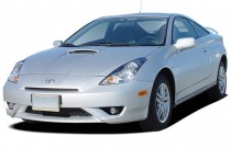 2004 Toyota Celica 3dr LB GT Manual (Natl) Angular Front Exterior View