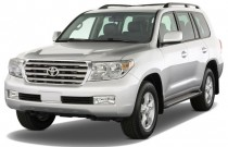 2009 Toyota Land Cruiser 4-door 4WD (Natl) Angular Front Exterior View