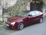 2002 Mercedes-Benz C-Class Sports Coupe