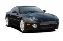 2003 Aston Martin DB7 2-door Coupe Vantage Manual Angular Front Exterior View