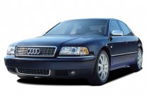 2003 Audi A8 4-door Sedan 4.2L quattro AWD Auto Angular Front Exterior View