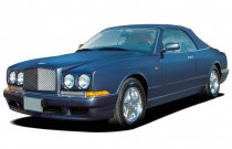 2009 Bentley Azure 2-door Convertible Angular Front Exterior View