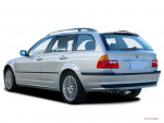 2003 BMW 3-Series 325xi 4-door Sport Wagon AWD Angular Rear Exterior View