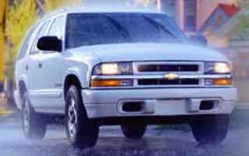 2003 Chevrolet Blazer Vs Toyota Highlander Honda Cr V Subaru