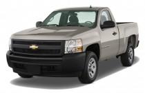 "2009 Chevrolet Silverado 1500 2WD Reg Cab 119.0"" Work Truck Angular Front Exterior View"